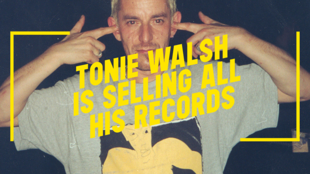 Tonie Walsh is Selling All His Records
