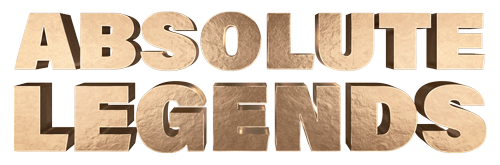 Lords of Strut absolute legends gold logo